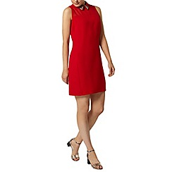 Dorothy Perkins - Red collar shift dress