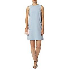 Dorothy Perkins - Blue crepe seam shift dress