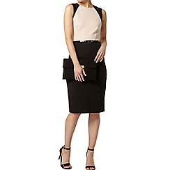 Dorothy Perkins - Colour block lace pencil dress