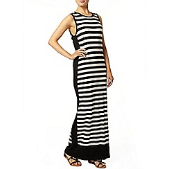 Dorothy Perkins - Stripe hem maxi dress