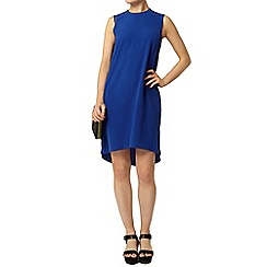 Dorothy Perkins - Blue hi lo hem shift dress