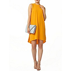 Dorothy Perkins - Orange hi lo hem shift dress