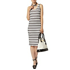 Dorothy Perkins - Stripe scoop neck bodycon dress