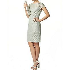 Dorothy Perkins - Green lace pencil dress