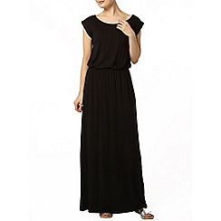 Dorothy Perkins - Black t-shirt maxi dress