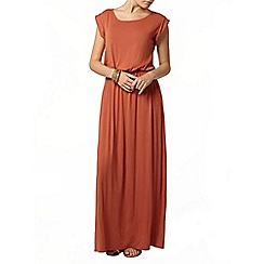 Dorothy Perkins - Rust t-shirt maxi dress