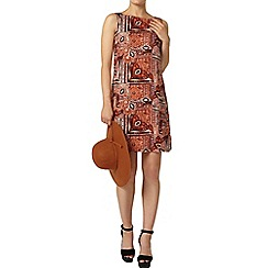 Dorothy Perkins - Paisley printed pinny dress