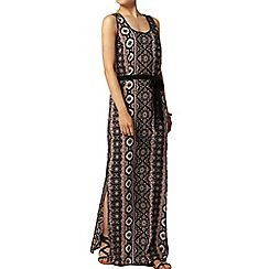 Dorothy Perkins - Printed pom pom maxi dress