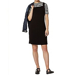 Dorothy Perkins - Black 2 in 1 pinny dress