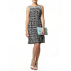 Dorothy Perkins - Blue printed dress
