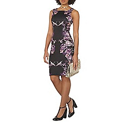 Dorothy Perkins - Floral placement print pencil dress