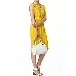 Dorothy Perkins - Yellow t-shirt midi dress