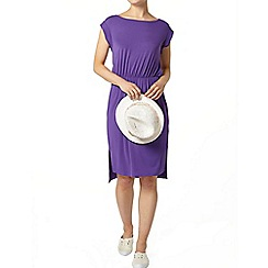 Dorothy Perkins - Purple t-shirt midi dress