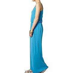 Dorothy Perkins - Turquoise cami t-shirt maxi dress