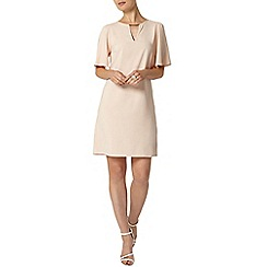 Dorothy Perkins - Blush flutter sleeve dress