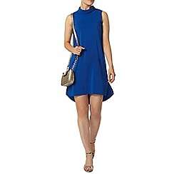 Dorothy Perkins - Cobalt roll neck shift dress