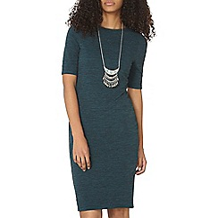 Dorothy Perkins - Teal bodycon dress