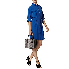 Dorothy Perkins - Cobalt collar shirt dress