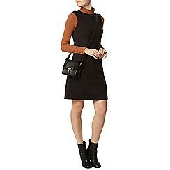 Dorothy Perkins - Black epaulette shift dress