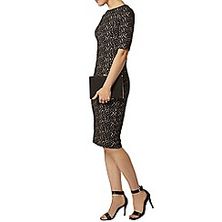 Dorothy Perkins - Animal jacquard bodycon dress