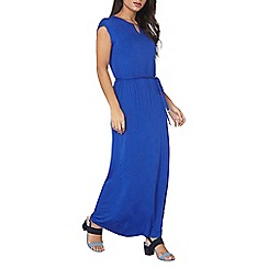 Dorothy Perkins - Cobalt gold bar maxi dress