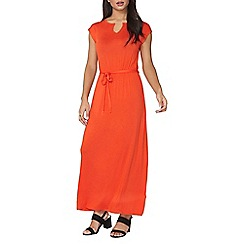 Dorothy Perkins - Red gold bar maxi dress