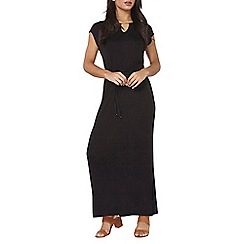 Dorothy Perkins - Black gold bar maxi dress