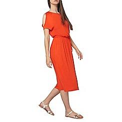 Dorothy Perkins - Tall red jersey midi dress