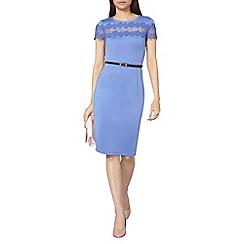 Dorothy Perkins - Scuba and lace pencil dress