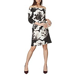 Dorothy Perkins - Floral bardot dress
