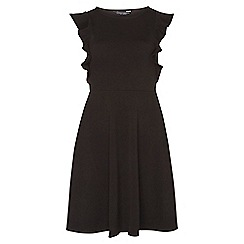 Dorothy Perkins - Ruffle front fit and flare dress
