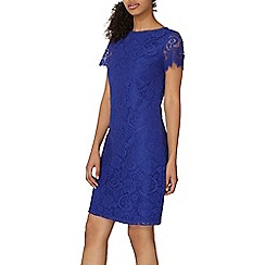 Dorothy Perkins - Cobalt lace shift dress
