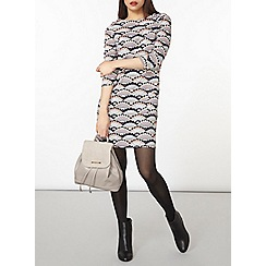 Dorothy Perkins - Shell print shift dress