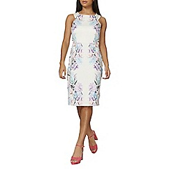 Dorothy Perkins - Ivory placement print dress