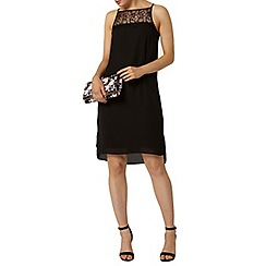 Dorothy Perkins - Black lace top dress