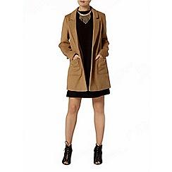 Dorothy Perkins - Black scallop shift dress