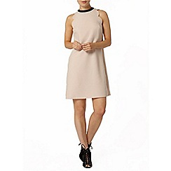 Dorothy Perkins - Blush scallop shift dress