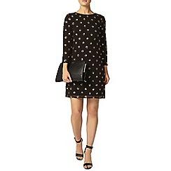 Dorothy Perkins - Gold sequin spot dress