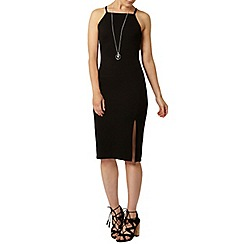 Dorothy Perkins - High neck split bodycon dress