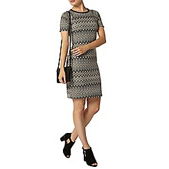 Dorothy Perkins - Chevron sleeve bodycon dress