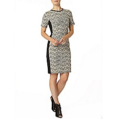 Dorothy Perkins - Print panel bodycon dress