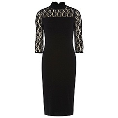 Dorothy Perkins - Tall high neck lace bodycon dress