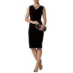 Dorothy Perkins - Black mesh insert dress