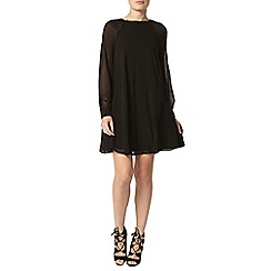 Dorothy Perkins - Black embellished shift dress