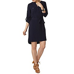 Dorothy Perkins - Navy d ring shirt dress