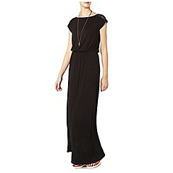Dorothy Perkins - Tall black lace maxi dress