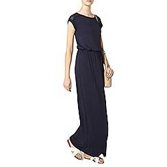 Dorothy Perkins - Tall navy lace maxi dress