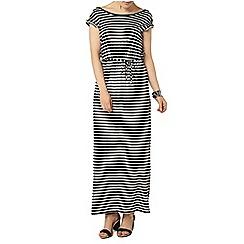 Dorothy Perkins - Stripe v back maxi dress