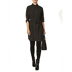 Dorothy Perkins - Black star shirt dress