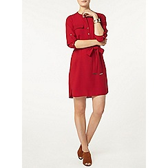 Dorothy Perkins - Raspberry shirt dress